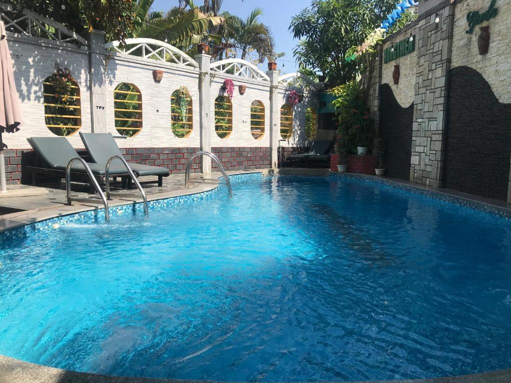 Piscina en o cerca de Hong Thien 1 Hotel