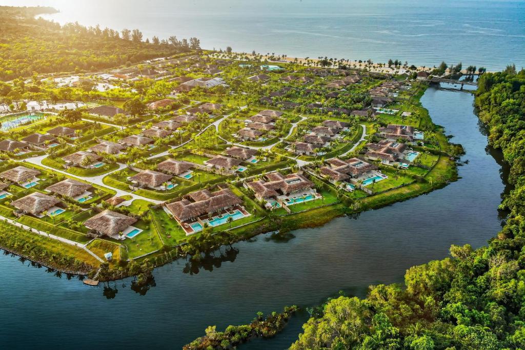 Tầm nhìn từ trên cao của Fusion Resort Phu Quoc - All Spa Inclusive