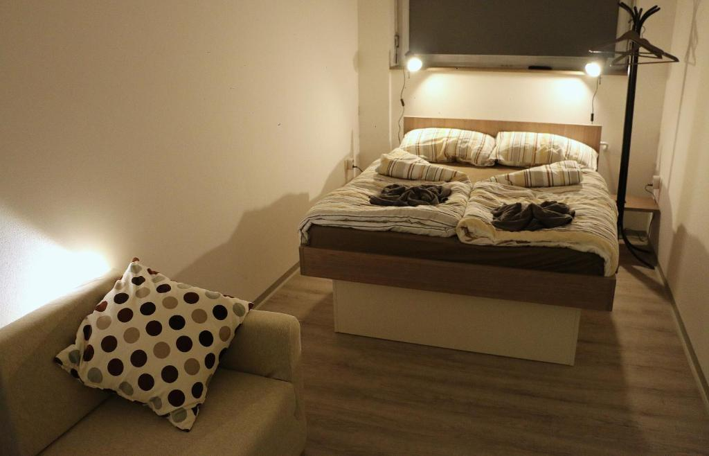 A bed or beds in a room at Hostel Tivoli
