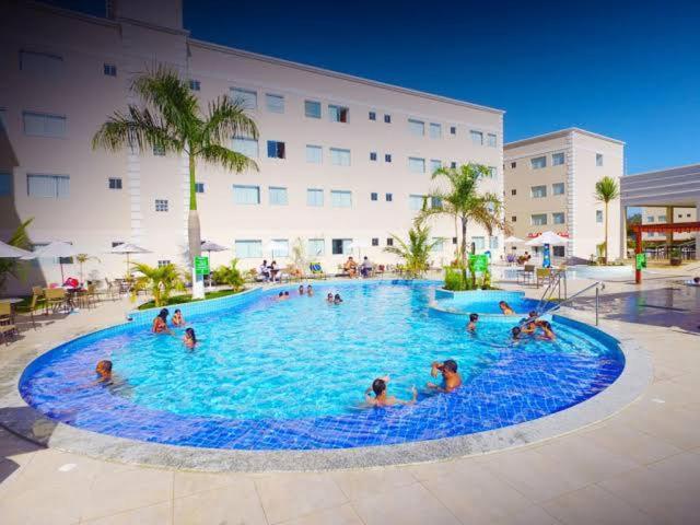 The swimming pool at or near Encontro das Águas