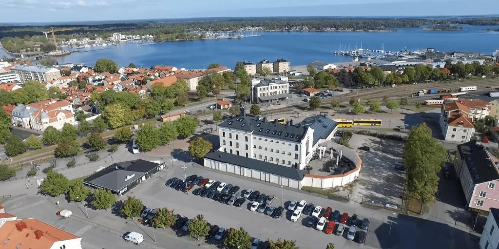 A bird's-eye view of Fängelset Hotell & Konferens