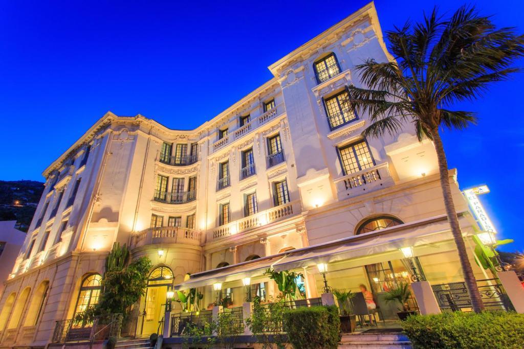 Bâtiment de le complexe hôtelier