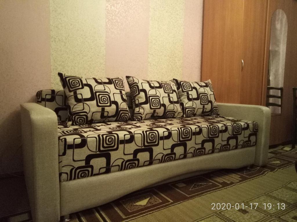 A seating area at Flat Yugo-Zapad