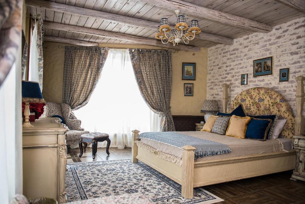 Гостиная зона в Rasslabonov Country Home