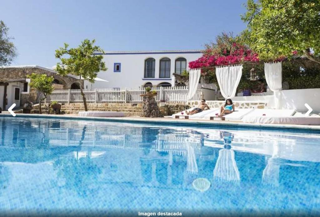The swimming pool at or near Agroturismo Can Marquet