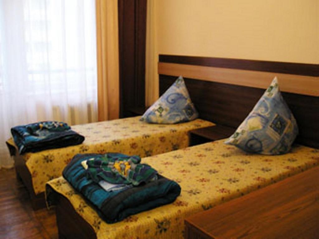 Ліжко або ліжка в номері Оздоровчий табір Лідер