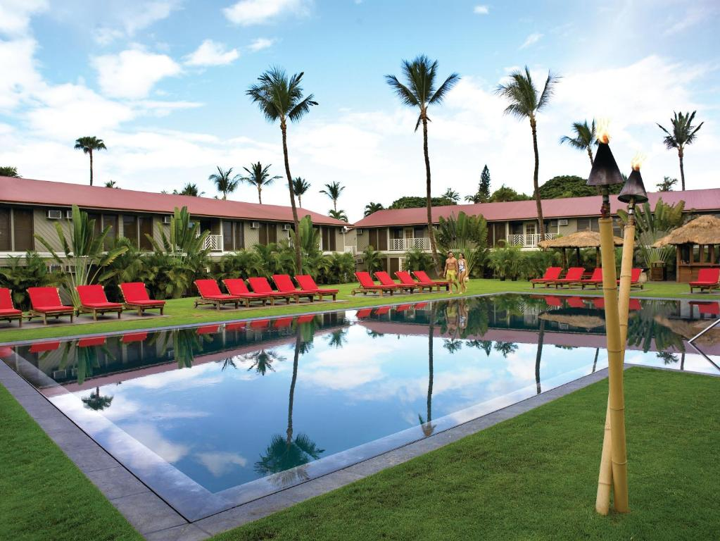 The swimming pool at or close to Aina Nalu Lahaina by Outrigger