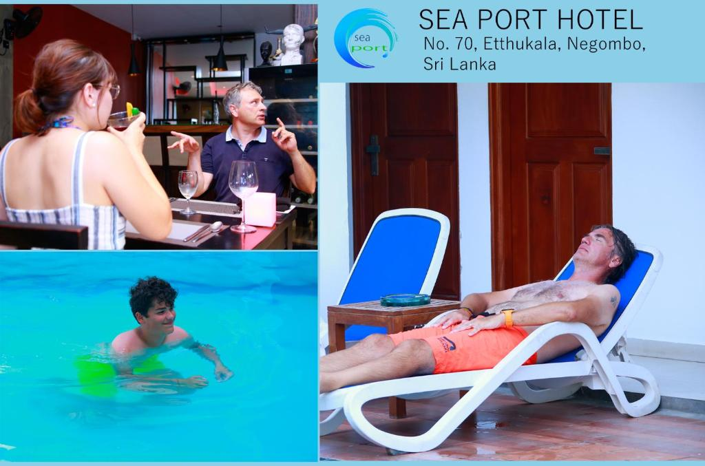 Guests staying at Sea Port