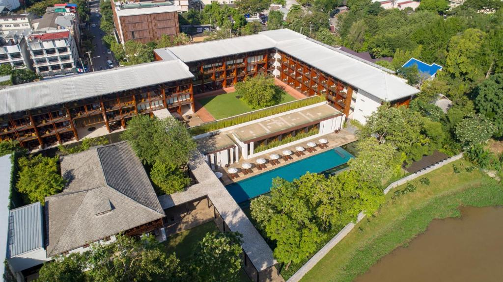 A bird's-eye view of Anantara Chiang Mai Resort