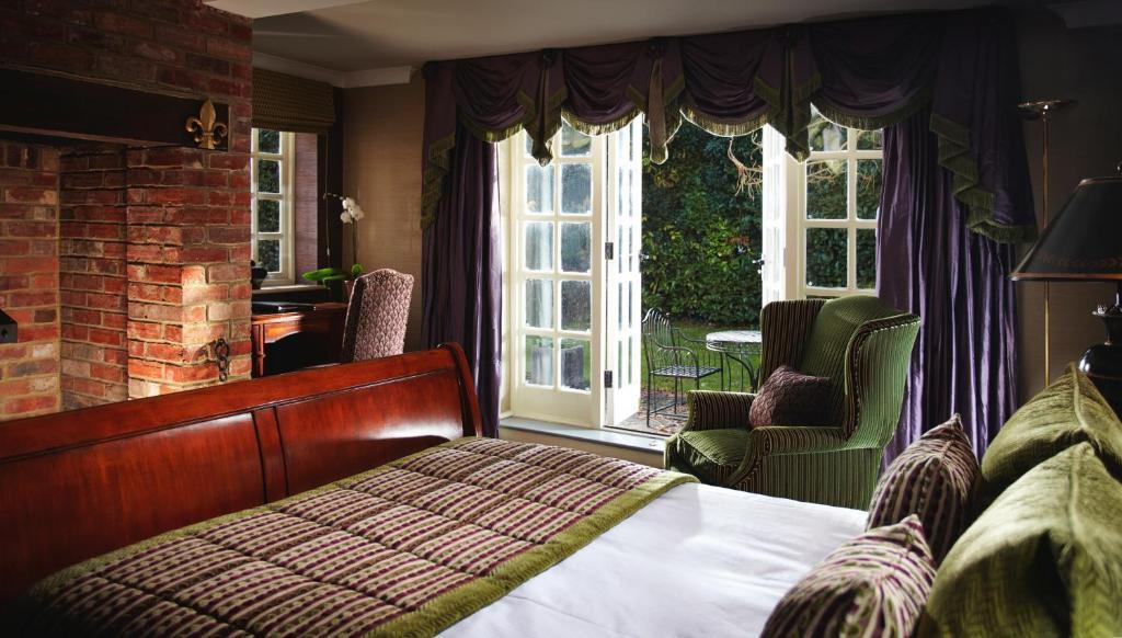 A room at Langshott Manor.