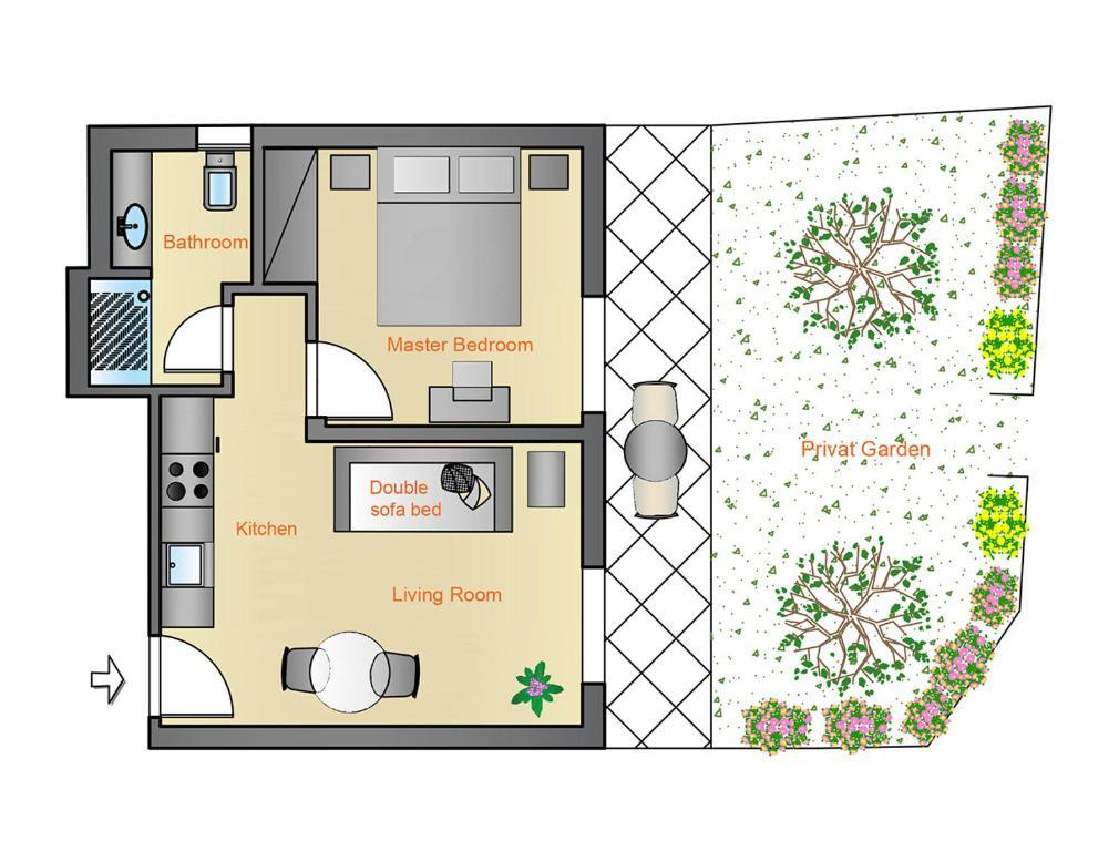 Plan de l'établissement Casa MaLu Boutique Apartments - No 2