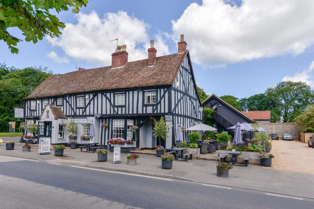 The Bell Inn in Newmarket, Suffolk, England