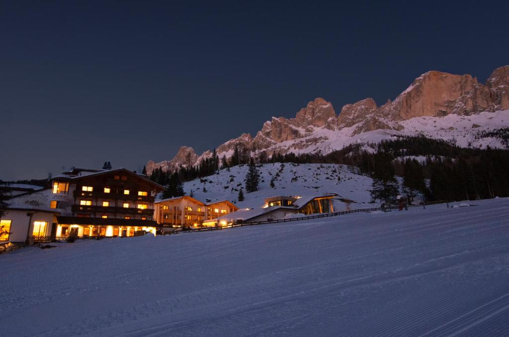 Hotel Moseralm durante l'inverno