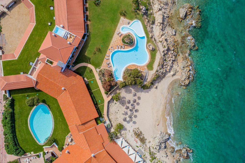 Vista aerea di Hotel Sporting