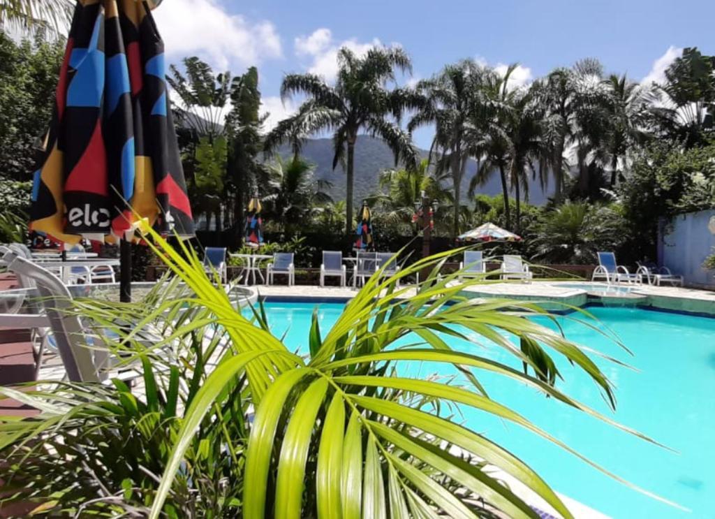 A piscina localizada em Amoreiras Hotel Pousada ou nos arredores