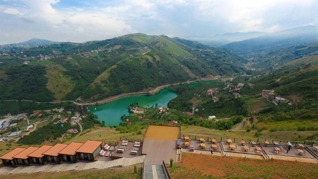 Apgyvendinimo įstaigos Sera Lake Resort Hotel Spa & Aparts vaizdas iš viršaus