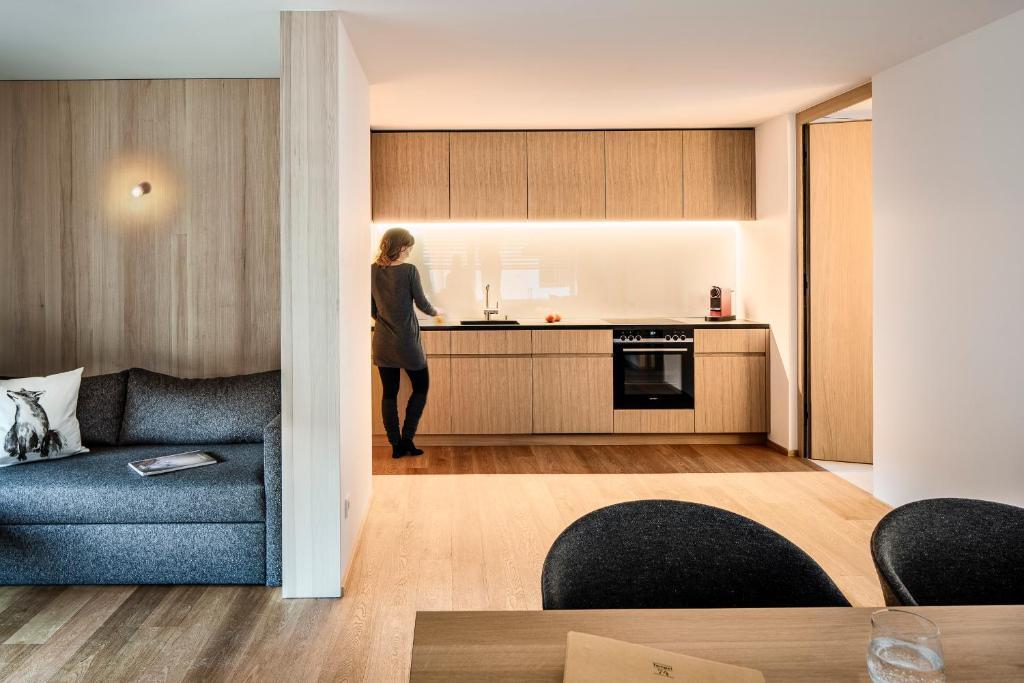 Tempel 73 Apartments Mellau, Januar 2020