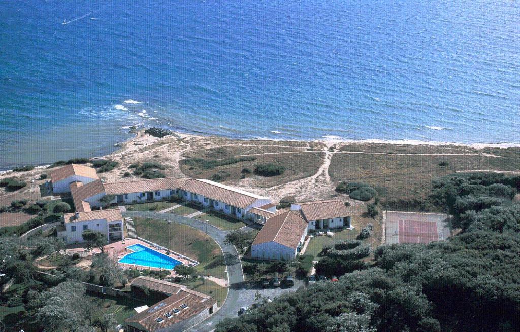 Blick auf Motel Île de Lumière aus der Vogelperspektive