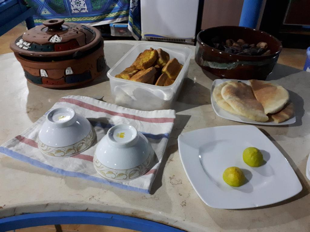 Breakfast options available to guests at Bet El Kerem Guesthouse