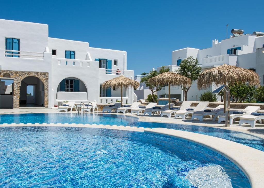 Πισίνα στο ή κοντά στο Cycladic Islands Hotel & Spa