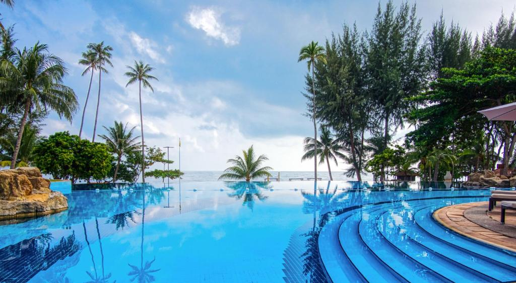 The swimming pool at or close to Nirwana Resort Hotel