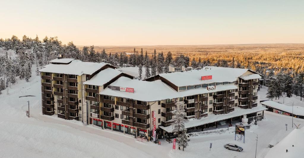 Ruka Ski Chalets talvella
