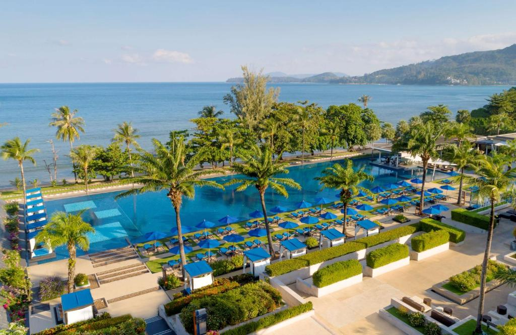 A view of the pool at Hyatt Regency Phuket Resort or nearby