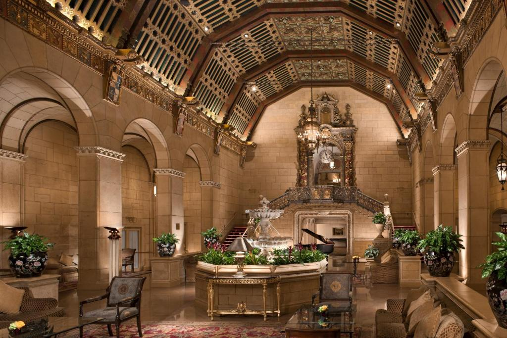 A restaurant or other place to eat at Millennium Biltmore Los Angeles