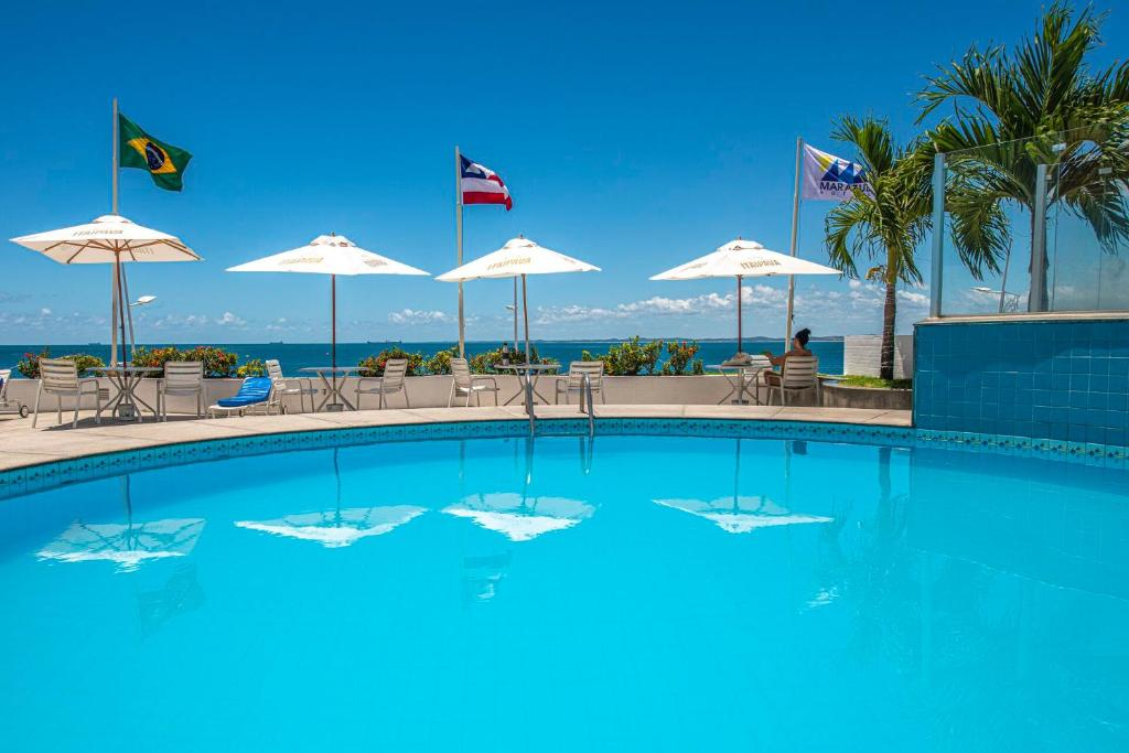 The swimming pool at or close to Marazul Hotel