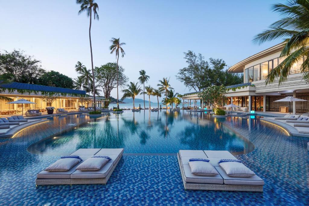 Melia Koh Samui 내부 또는 인근 수영장