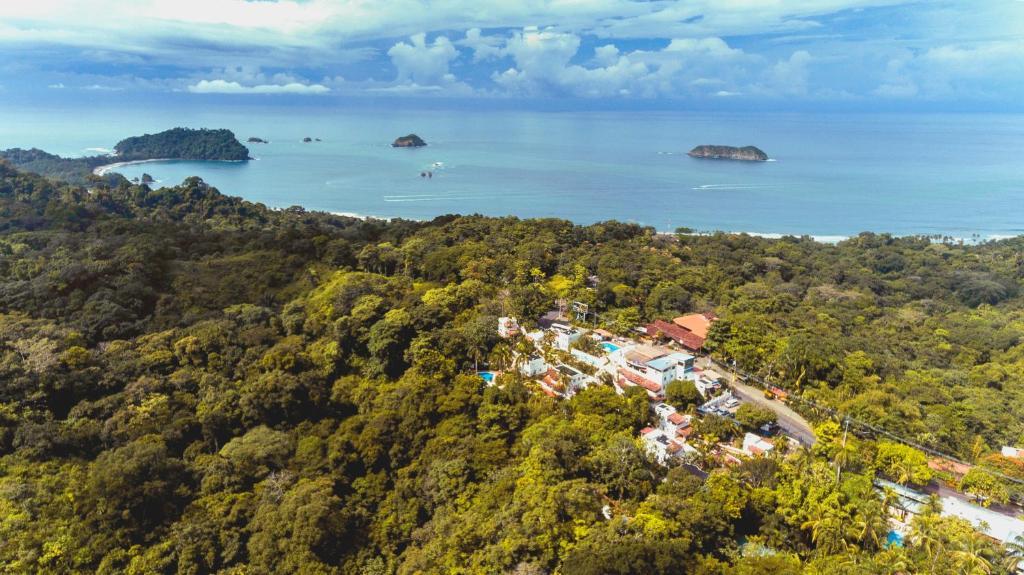 A bird's-eye view of Selina Manuel Antonio