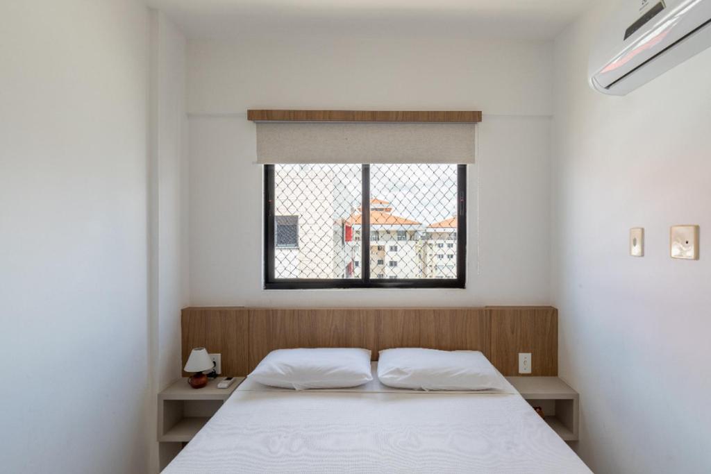 Cama o camas de una habitación en Portal dos Mares