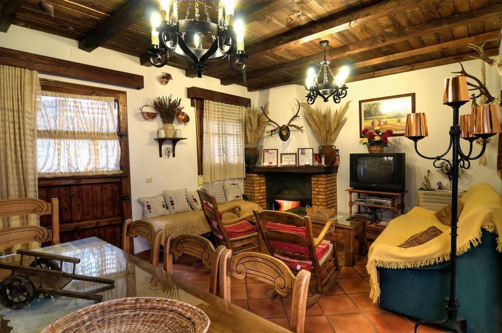 A seating area at La Tia Nicolasa