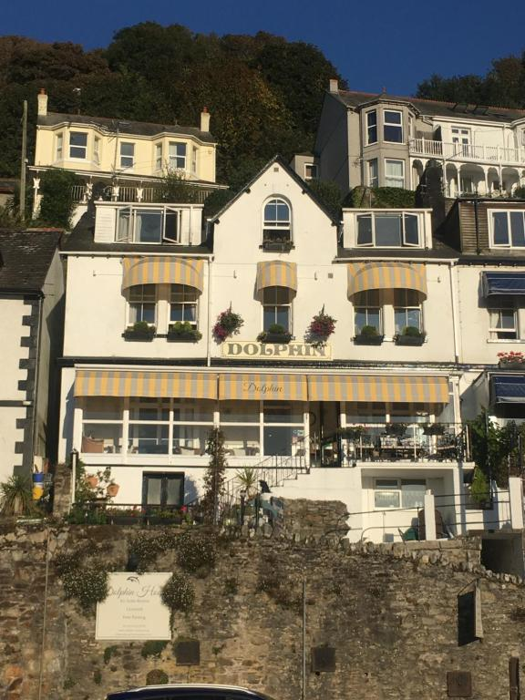 Dolphin Guest House in Looe, Cornwall, England