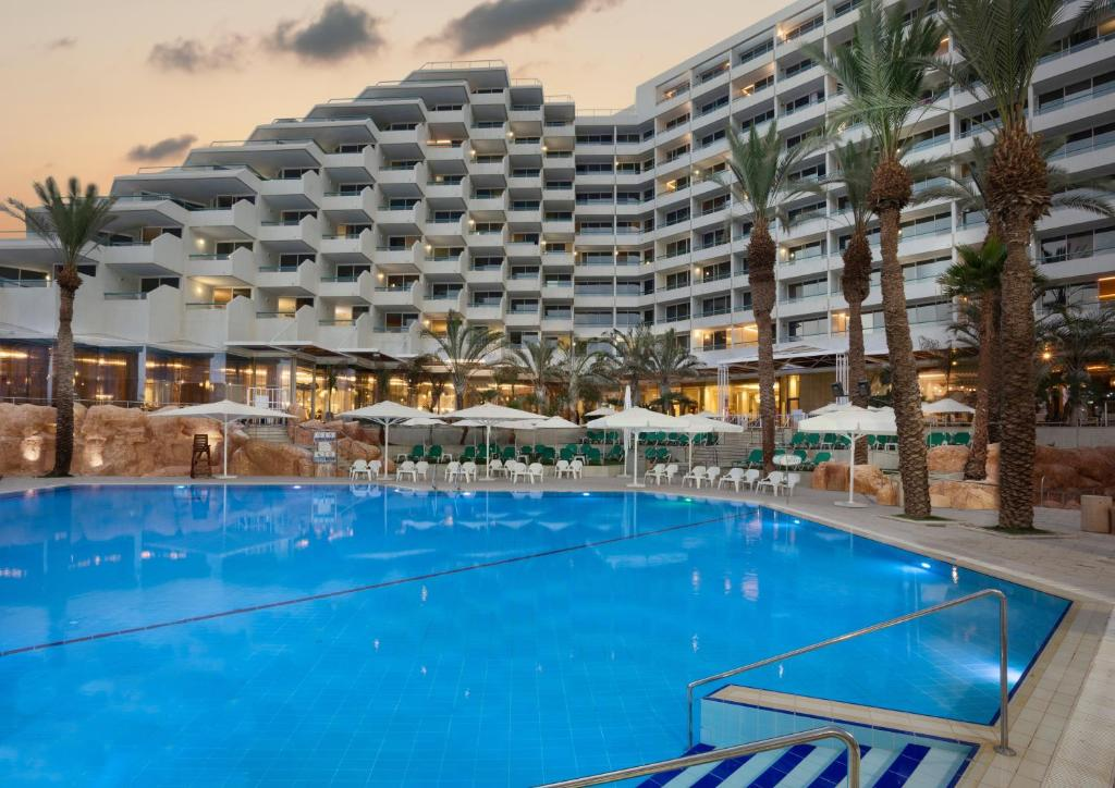The swimming pool at or near Crowne Plaza Eilat