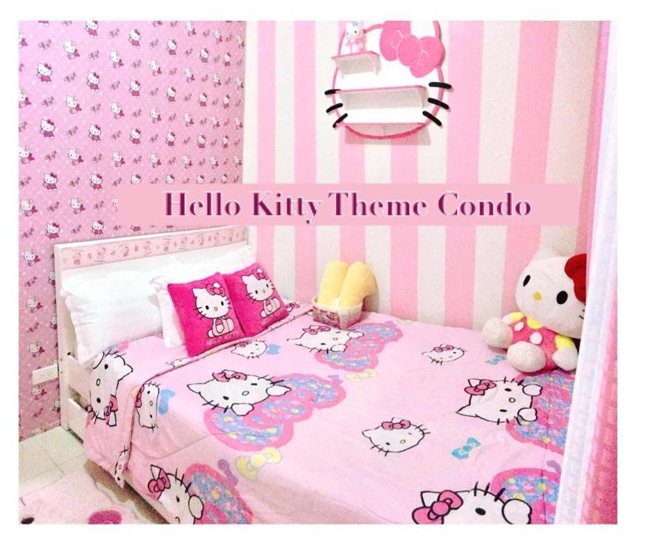Letti Per Bambini Hello Kitty.Appartamento Ichays Hello Kitty Place Filippine Tagaytay