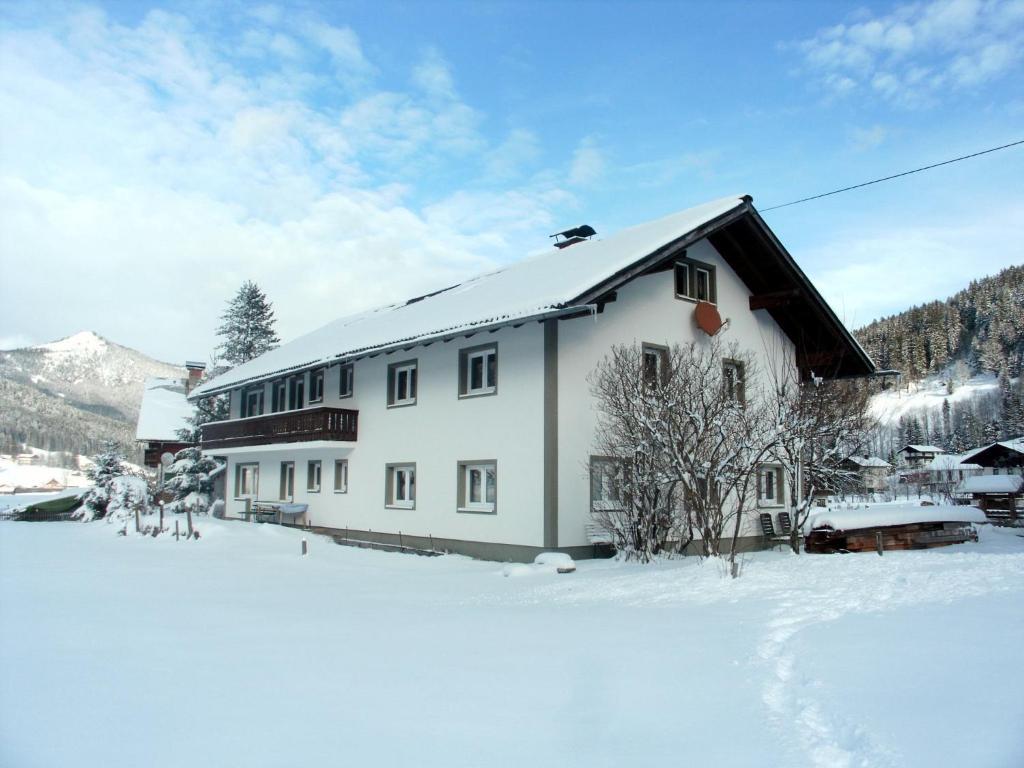 L'établissement Gästehaus Wallmann en hiver