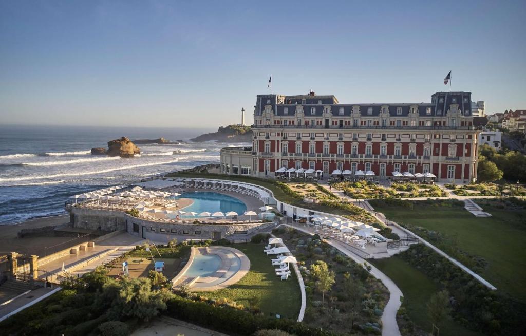 Vista aerea di Hotel du Palais Biarritz - in the Unbound Collection by Hyatt