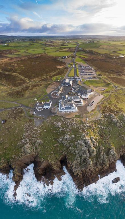 Land's End Hotel in Sennen, Cornwall, England