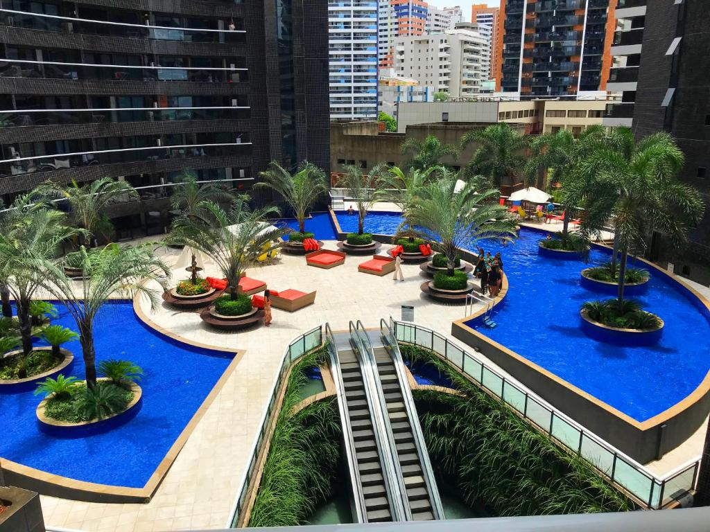 A view of the pool at Landscape Deluxe Sea View or nearby