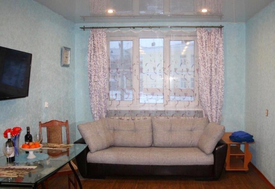 Гостиная зона в 1 комнатная квартира в центре Санкт-Петербурга у м. Чкаловская