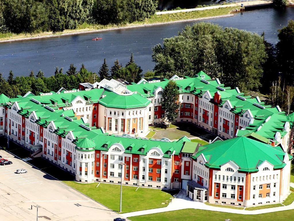A bird's-eye view of Hotel Park Krestovskiy
