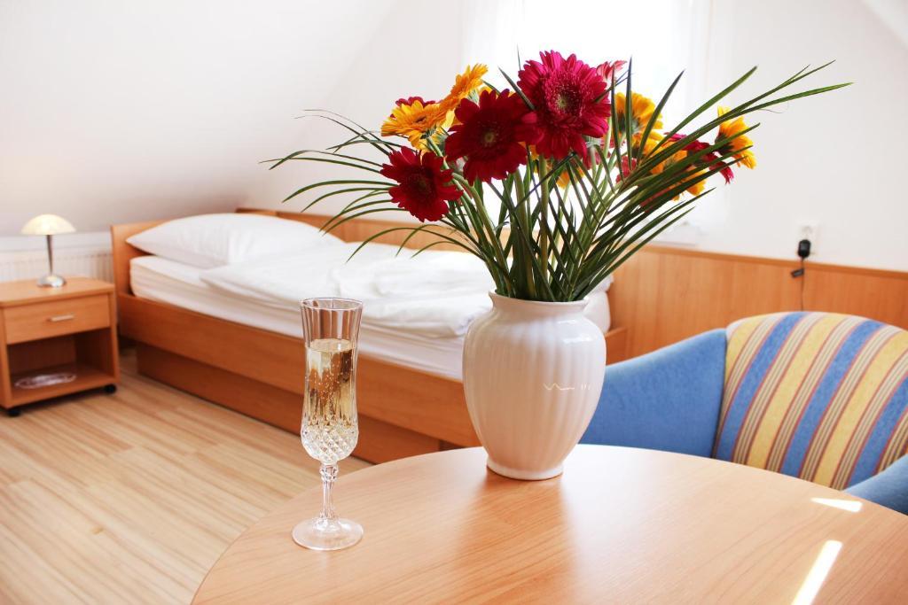 Drinks at Hotel Pension Kirschstein