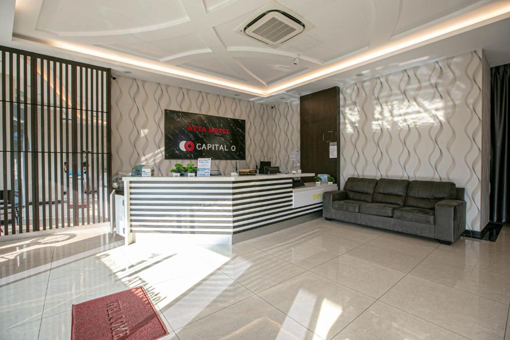 The lobby or reception area at Atta Mansion
