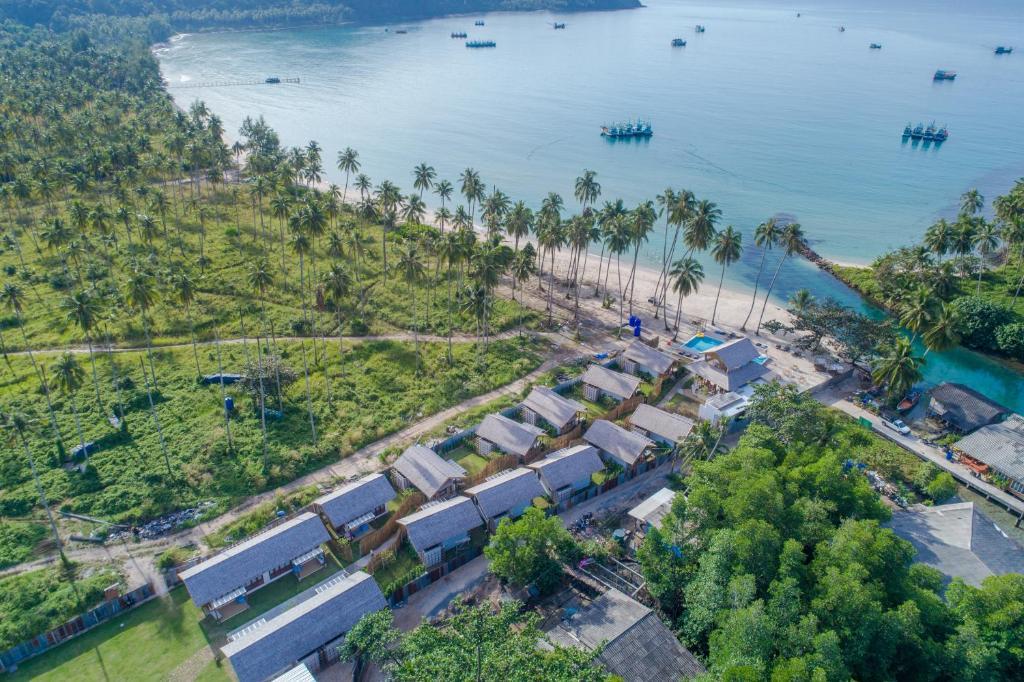 Rest Sea Resort Koh Kood с высоты птичьего полета