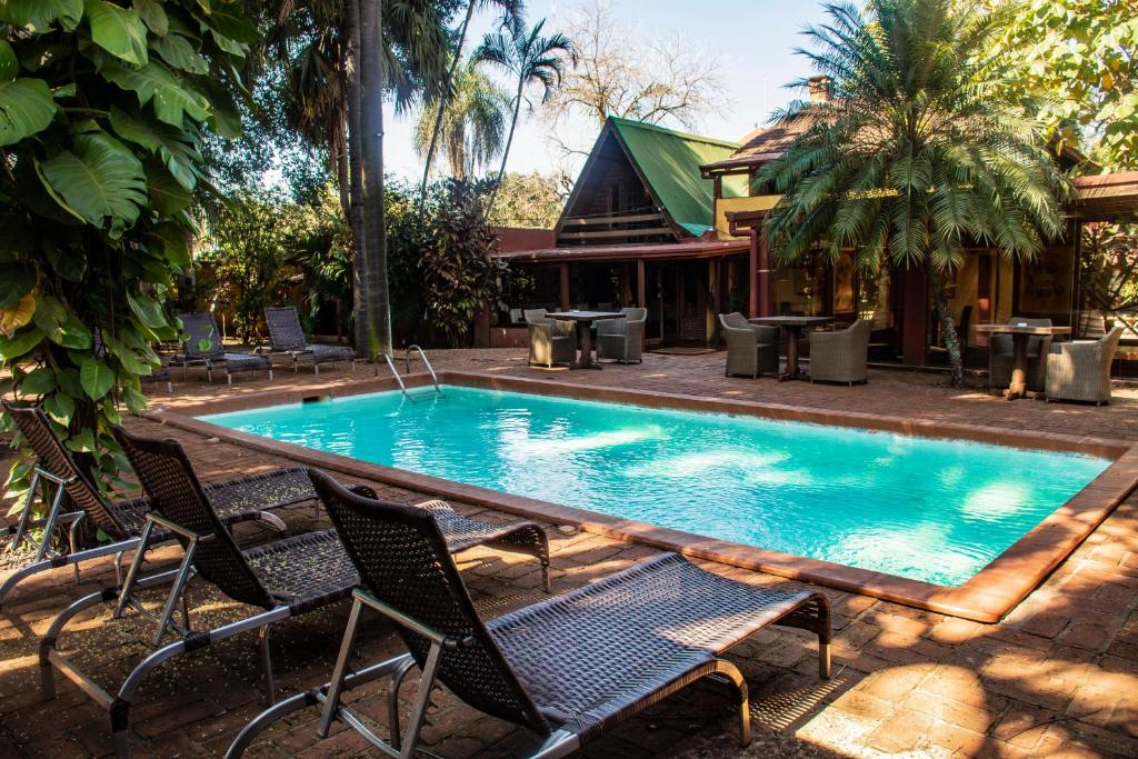 The swimming pool at or near Boutique Hotel De La Fonte