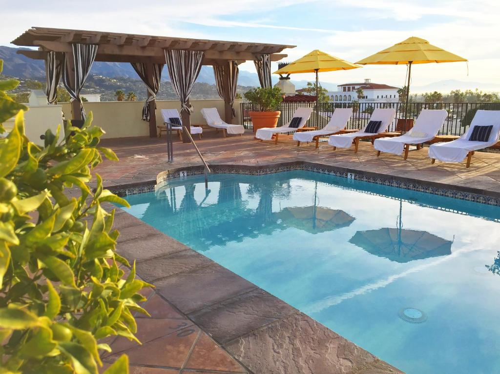 The swimming pool at or near Kimpton Canary Hotel