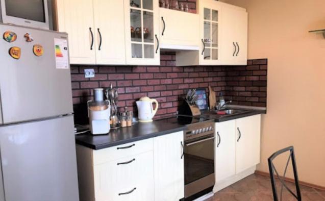 Кухня или мини-кухня в Old Castle Road