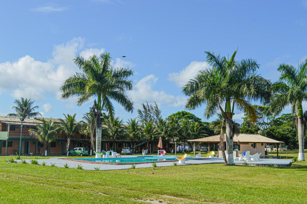 The swimming pool at or near VOA Serra Verde