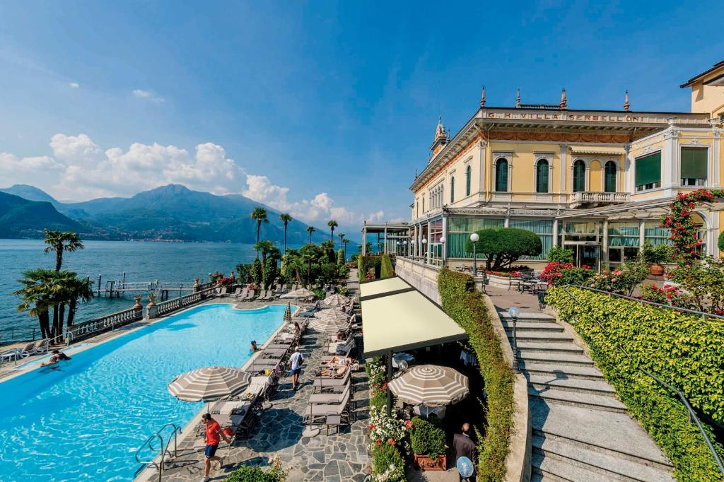 The swimming pool at or near Grand Hotel Villa Serbelloni
